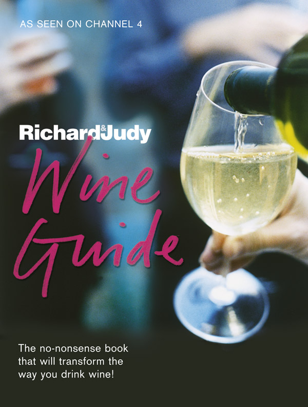 book cover, The Richard and Judy Wine Guide